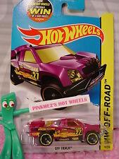 Case F 2015 Hot Wheels OFF TRACK #79∞Purple Haze; 27∞MMSB RACING∞Road Rally