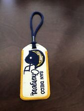 San Diego Chargers Embroidered Luggage Tag