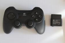 Playstation 2 PS2 Logitech Cordless Precision Wireless Controller mit Empfänger