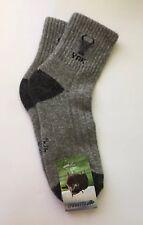 Yak wool Blend Unisex women's men's socks Thermal warm Grey 40-42 Mongolia
