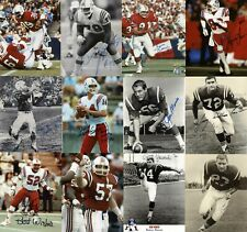New England Patriots Lot of 17 Signed 8x10 Auto Autograph Cappelletti McGinest