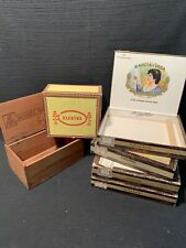 New ListingVintage Cigar Boxes, Lot of 6
