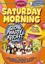 SATURDAY MORNING TV KROFFT 1970'S 7 PILOTS RARE OOP DVD