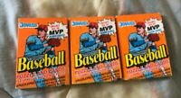 1990 Donruss Lot Of 3 Baseball Card Wax Packs