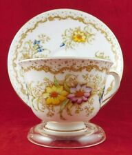Vintage Royal Albert China Cup and Saucer England Pattern name is GEM
