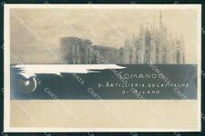 Militari Reggimentale Comando Artiglieria da Campagna Milano cartolina XF6891
