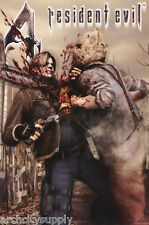 POSTER:MOVIE REPRO : RESIDENT EVIL 4 - CONFRONTATION - FREE SHIP  #3454   RC42 K