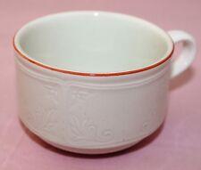 Villeroy & Boch V&B Cortina rot 1 Kaffeetasse Tasse DM  8,5 H 6 cm aus Porzellan