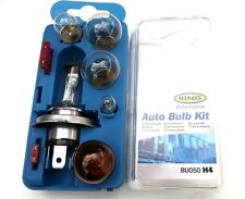 H4 Spare Headlight bulb Kit, High Quality Ring Great for European Travel (BK050)