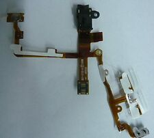 black Headphone Audio Jack Flex Ribbon Cable Replacement Part for iPhone 3G 3GS