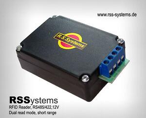 RFID READER - DUAL READ MODE, RS485(LONG DISTANCE) 12V, SHORT RANGE