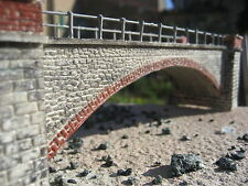 ponte ferroviario, per plastico diorama scala h0