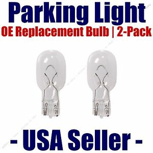 Parking Light Bulb 2-pack OE Replacement Fits Listed Merkur Vehicles - 904