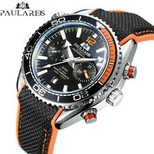 Mens Automatic Mechanical 007  homage watch sea ocean rubber UK