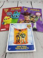 Disney Toy Story Jumbo Coloring Activity Book 1 Ebay