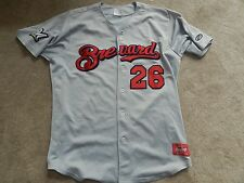 2014 Brevard County Manatees Game Used Road Jersey #26 Kevin Shackelford Brewers