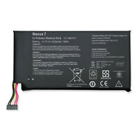 NEW Battery C11-ME370T For Google ASUS Nexus 7 3.7V 4325mAh 16Wh Replacement