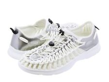 EUC! RARE Keen Men's Uneek Sz US 13 M Star White Silver Sport Sandals