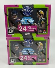 Lot of (2) 2017 Donruss Optic Football Unopened Sealed Blaster Boxes