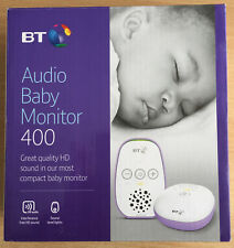 BT Audio Baby Monitor 400 - Compact Monitor - Good Sound