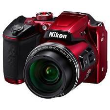 Nikon Coolpix B500 16 Megapixel Compact Digital Camera Red