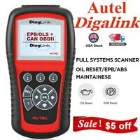 Autel Diaglink EPB Oil Reset Automotive OBD2 Scanner Diagnostic Tool Code Reader