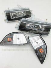 Headlights Headlamps for 33#G Toyota Corolla AE92 AE93 AE94 E90 EE90 sedan 89-92