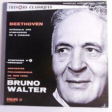 "33T BEETHOVEN Vinyle LP 12"" SYMPHONIE N°3 PASTORALE Bruno WALTER New York 01302L"