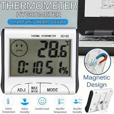 Mini LCD Digital Thermometer Humidity Meter Room Temperature Indoor Hygrometer