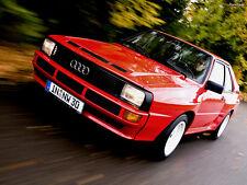 1984 Audi Quattro Sport Coupe, Refrigerator Magnet , 40 MIL Thick