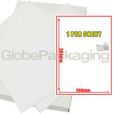 50 A4 Sheets Of Printer Address Labels - 1 Per Sheet