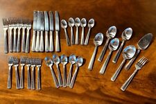 New ListingLongaberger Woven Traditions Flatware~Service For 6 + Serving Pieces
