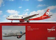 Herpa Wings 1:200 Airbus A320 Air Berlín D-Abnb Discover Ee.uu. 557306