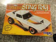 1967 Corvette Sting Ray 1/25 scale Mpc kit # 6357