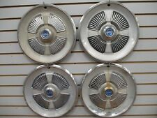1965 FORD GALAXIE 500 Wheelcover WHEEL COVERS Hubcaps OEM SET 65