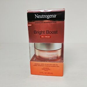 SEALED Neutrogena Bright boost Gel Cream 1.7 fl. oz FULL SIZE, BRAND NEW