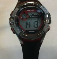 Armitron Men's Black Digital Multi Function Watch,  330 Meter WR, 40/3851