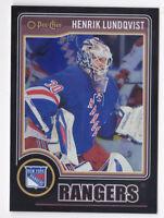 14-15 OPC Henrik Lundqvist /100 Rainbow BLACK OPEECHEE NY Rangers 2014