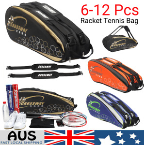 Waterproof Tennis Bag Professional Racquet Sports Bag Backpack Badminton