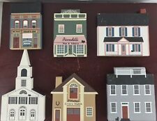 Vintage The Cats Meow Village Lot of 6 / 1991