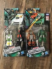 Transformers Earthrise Micromasters Wave 1 Set Trip-Up Daddy-O Bombshock Growl