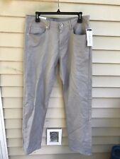 CALVIN KLEIN Men's LINEN Blend STRAIGHT FIT Pants 32 x 32 MSRP $79.50
