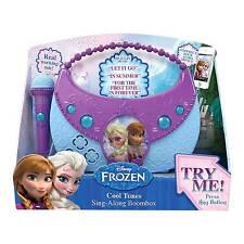 Disney Frozen 'cool Tunes' Sing Along Music Boombox Gadget Mp3 Gift