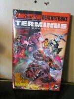 DC NEW SEALED Teen Titans Deathstroke The Terminus Agenda HC