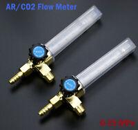 Durchflussmengenmesser Flowmeter für Argon und CO2 0-25MPa NEU