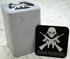 100x IRON MAIDEN BEER COASTERS NEW + Original Package Wacken Rarity