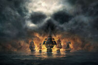 """Pirate 24""""x36"""" Canvas Art Poster Wall Prints Paintings Decor"""