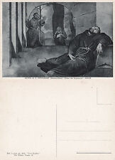 SAINT FRANCIS OF ASSISI IN ECSTASY ROME ITALY UNUSED POSTCARD
