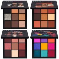 HUDA Obsessions Shimmer Eyeshadow Rose Gold Desert Dusk Smokey Warm Brown Makeup