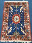 Old rug Handmade Varamin Rug With Lovely Unique Design
